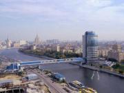 El centro de negocios Moscow-City en las orillas del río Moskva.