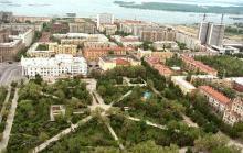 Una imagen de la ciudad rusa de Volgogrado.