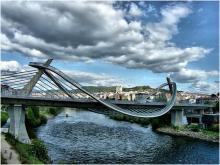 Оренсе - крупный промышленный город в Испании. Фото: Jose Luis Cernadas Iglesias